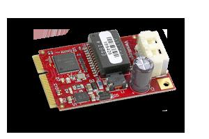 Gigabit Ethernet Mini PCIe module released