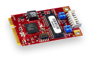 Dual Channel CAN Bus Mini PCIe expansion module released