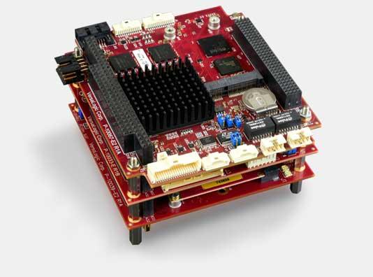 PC/104 single board computer stack